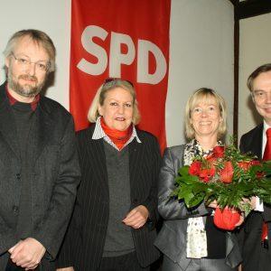 Matthias Bergmeier, Petra Fuhrmann, Doris Ahnen, Manfred Gönsch