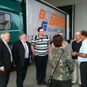 Betriebsbesichtigung der AGS bei Barth Galvanik