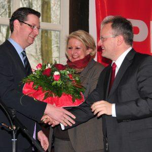 Viel Applaus für die Rede von Thorsten Schäfer-Gümbel