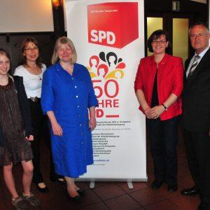 Hans Eichel auf der 150 Jahrfeier der SPD Hochtaunus