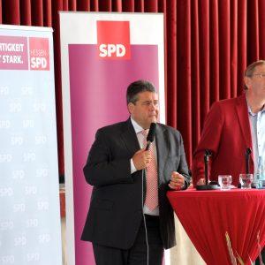 Sigmar Gabriel und Achim Schabedoth